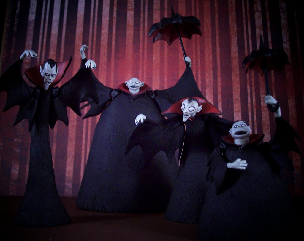 the Vampire Brothers. | My \'Nightmare Before Christmas\' coll… | Flickr