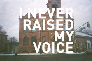 i never raised my voice | by SortOfNatural