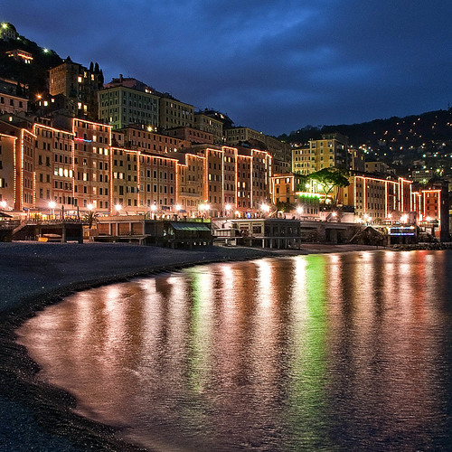 Blue hour in Camogli | by klausthebest