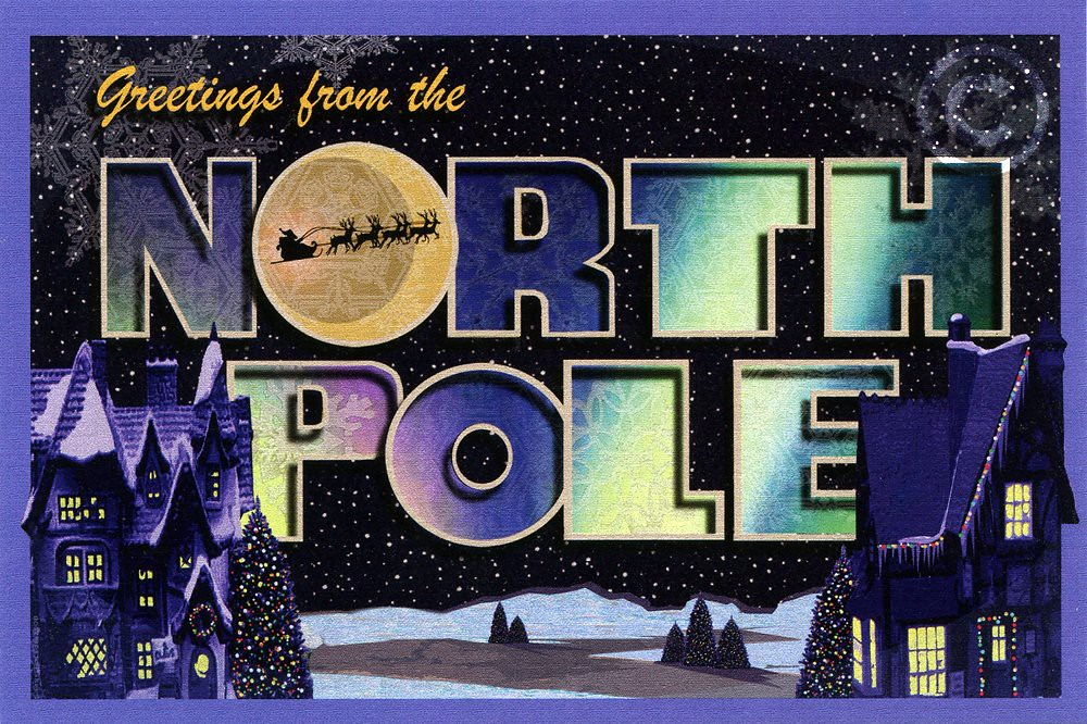 Greetings from the north pole 2010 larry fulton postcar flickr greetings from the north pole 2010 larry fulton postcard by shook photos m4hsunfo