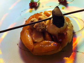 Nouveau Steakhouse - Caramelized Apples on Puff Pastry | by Miss Shari