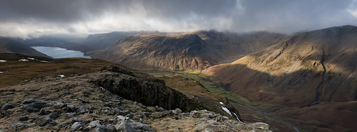 Wasdale Panorama from Lingmell | by Nick Landells