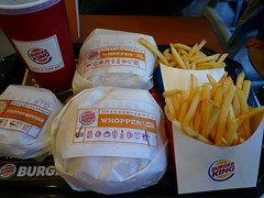 Double Whopper With Cheese Bacon LL Meal Burger King