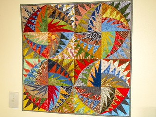paper piecing-a Karen K Stone pattern | by get your sew on