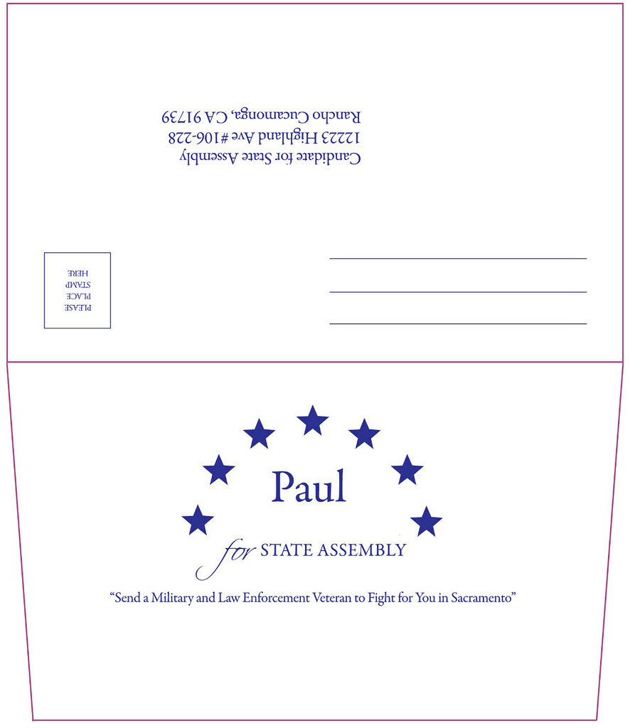State Assembly Campaign Donation Envelope (Outside) | Flickr