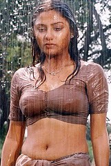 Copy Of Priyanka Trivedi In Rain Blouse Wet Saree Removed By Ramnithya2011