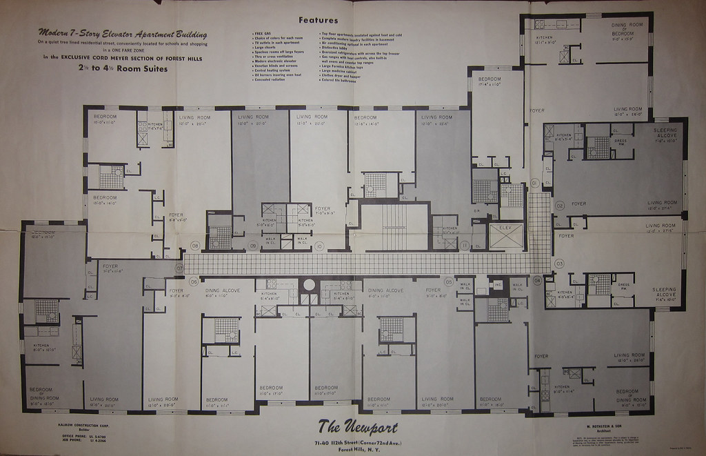 Newport 71 40 112th st forest hills ny blueprint the newpo flickr newport 71 40 112th st forest hills ny blueprint by rego forest preservation malvernweather Gallery