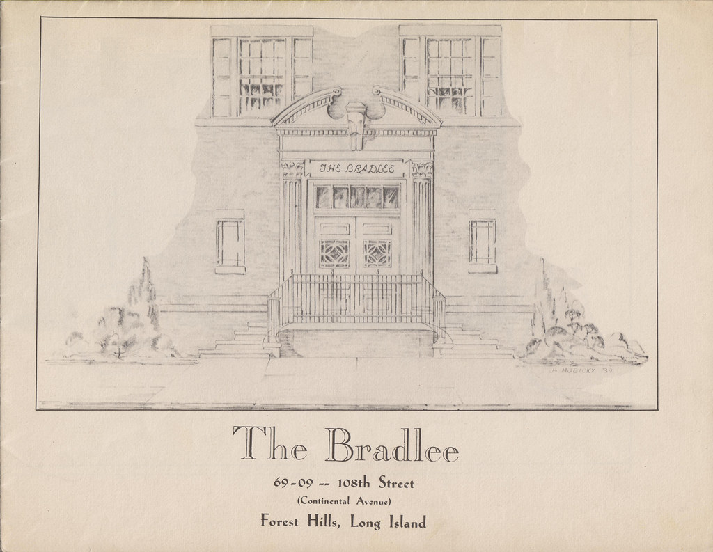 The bradlee 69 09 108th st forest hills ny historic blueprint the bradlee 69 09 108th st forest hills ny historic blueprint promotional booklet flickr malvernweather Gallery
