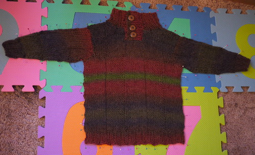 Ruadhan's jumper | by North Sea Knitter