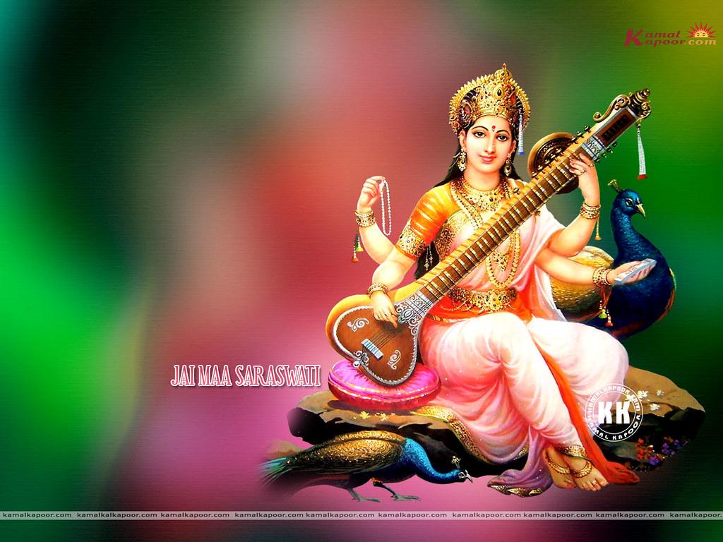 Download Maa Saraswati Photos Full Screen Wallpapers Of Ma Flickr