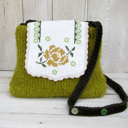 Cross Stitched Rose | by Karen Meyers Accessories