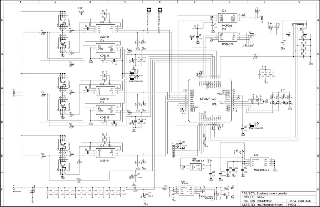 Great Motor Controller Circuit Contemporary - Electrical and ...