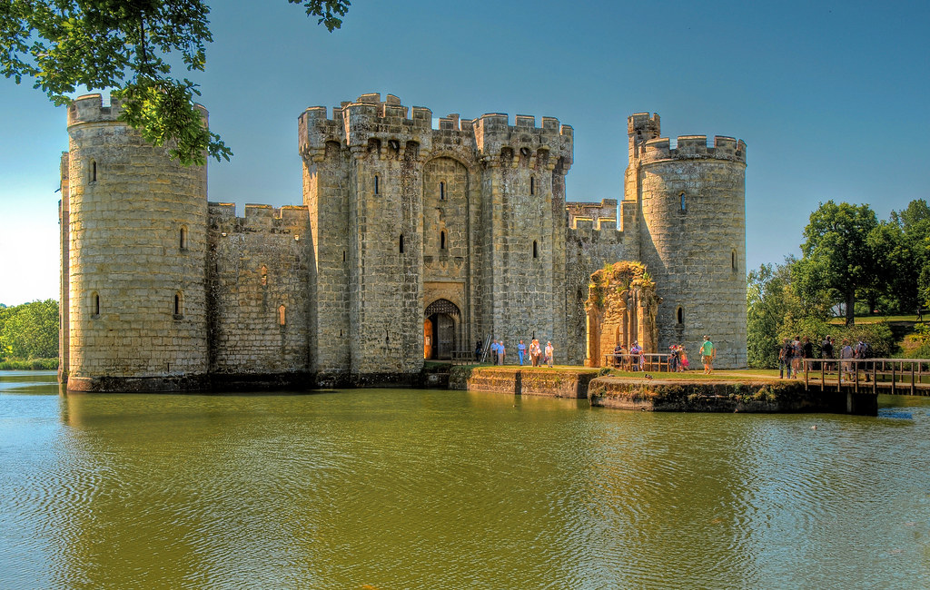 ... The 14th Century Bodiam Castle In East Sussex, England | By Anguskirk