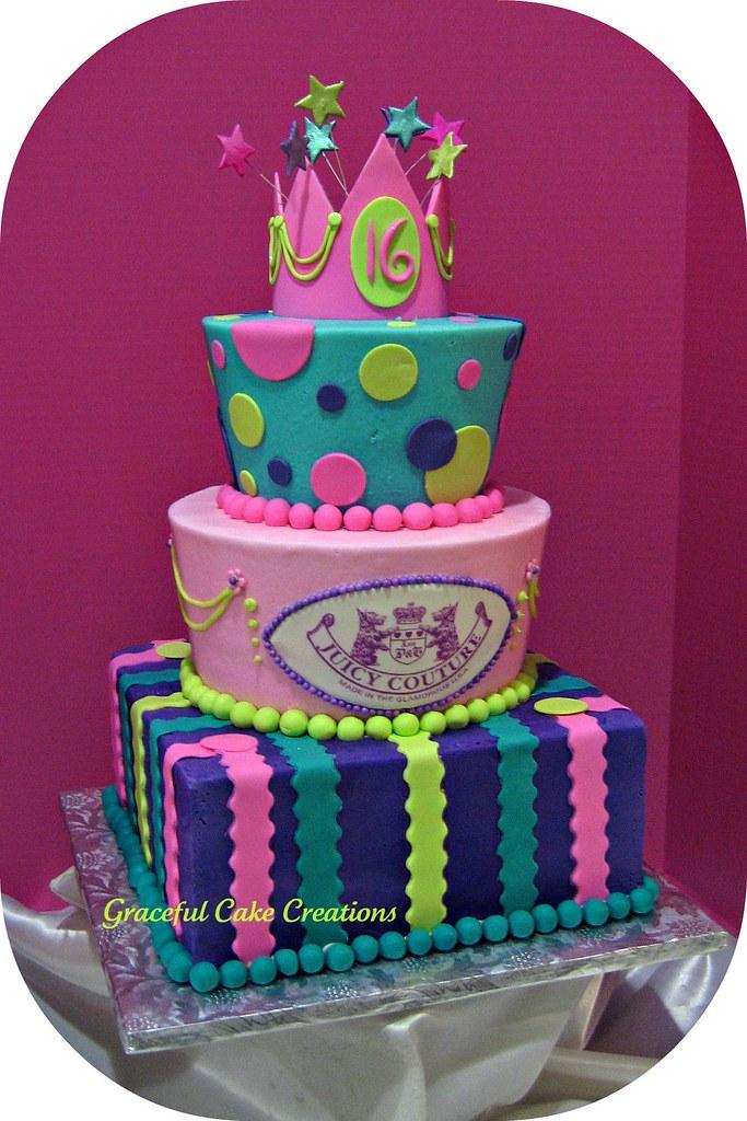 Sweet 16 birthday cakes images