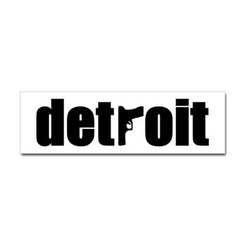 Detroit With Gun For T Logo Of Crime In Detroit Flickr