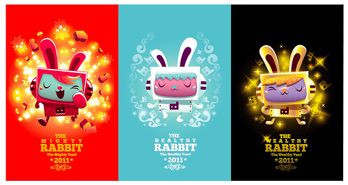Happy New Year! 2011 : The Rabbit Year | by GuGGGar