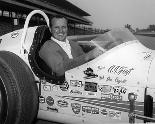 A j foyt the day after winning the 1964 indy 500 notice for Indianapolis motor speedway com