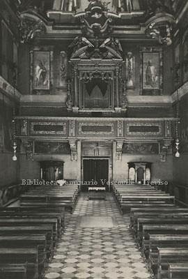 Treviso Interno Della Chiesa Di San Teonisto A Treviso Pr