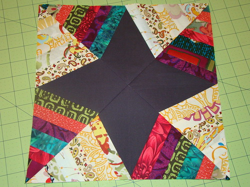 December Simply Strings block for Gwen | by sewcraftyjess
