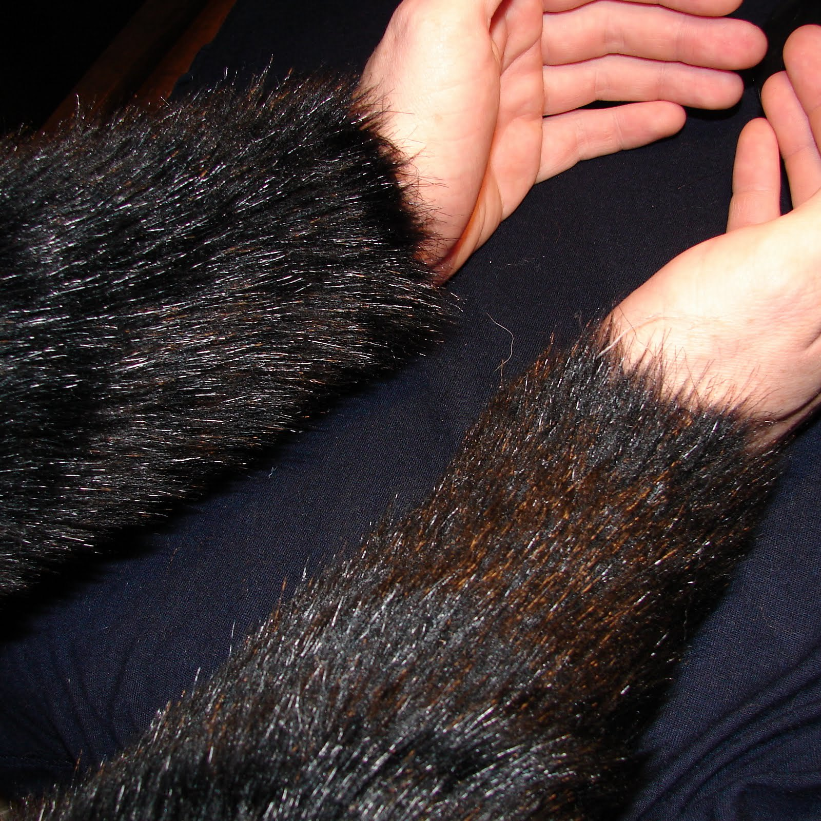 Faux Fur Fabric Walmart - It s a little more subtle here see the pictures below for somewhat more dramatic results