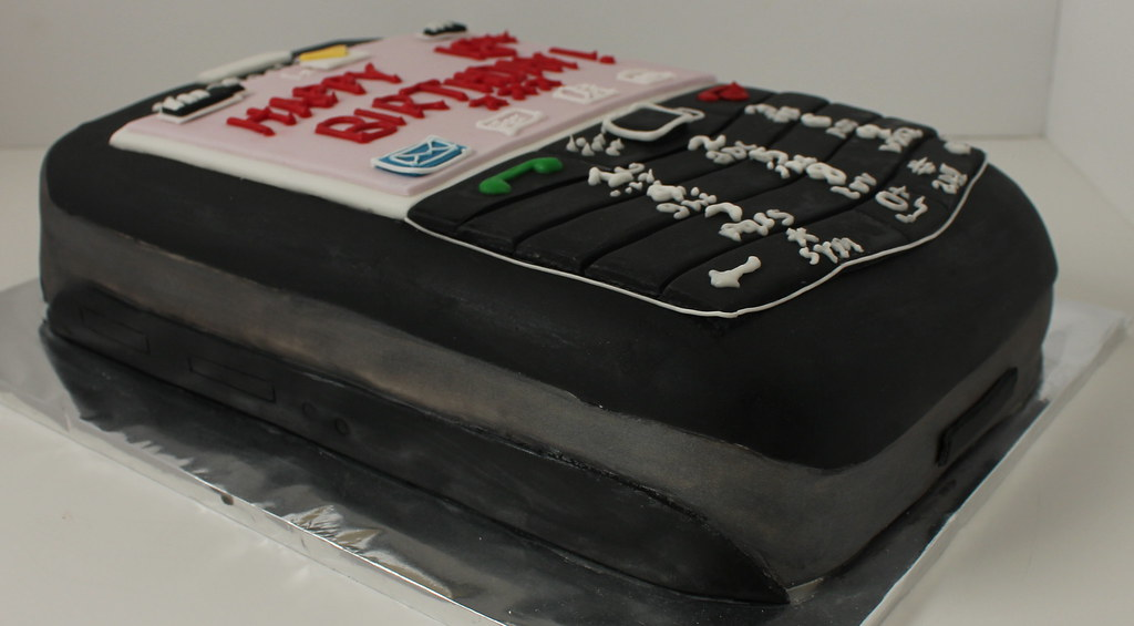 Mobile Phone Birthday Cake Pauls Creative Cakes Flickr