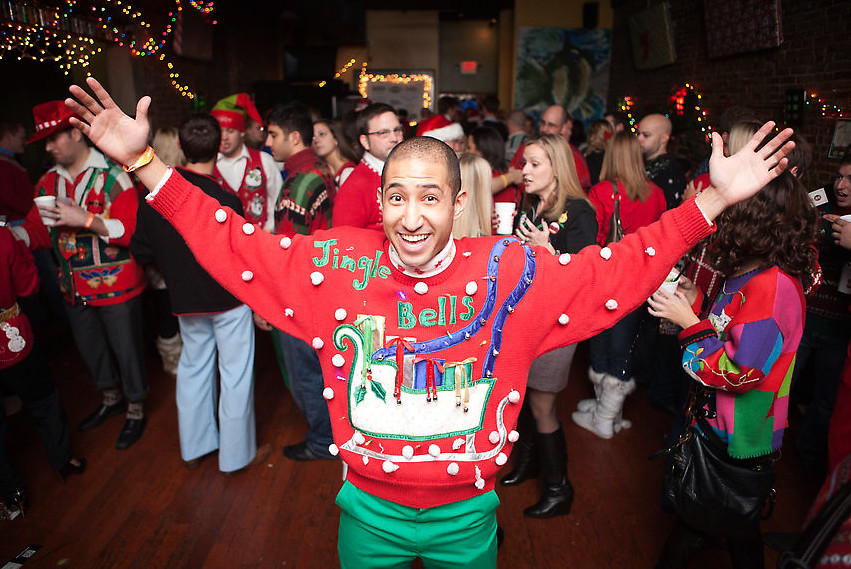 The Ugly Christmas Sweater Party 2010 Ramsey Mohsen Flickr