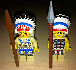 LEGO Collectible Minifigures Series 2 Tribal Chief vs. Western Indians | by wiredforlego