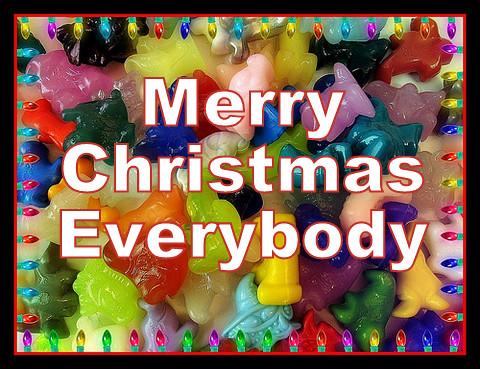 merry christmas everybody feliz natal by wagner_arts