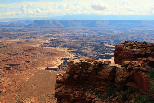 View of Canyonlands from the White Rim Overlook trail | by Alaskan Dude