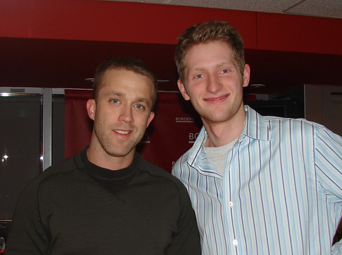 Director Eric McCoy and Tucker Max (I Hope They Serve Beer In Hell) | by Mccoy | Meyer