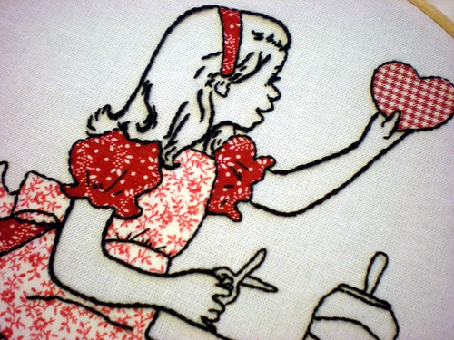 Vintage Valentine Embroidery & Applique | by xperimentl