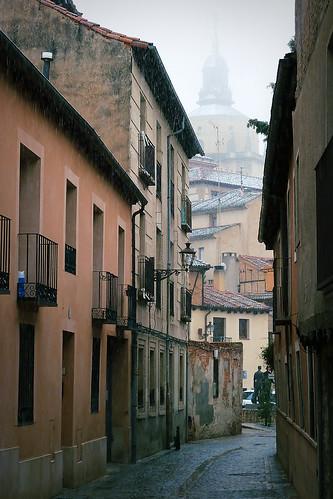 SEGOVIA - P1020318 RED RET  Segovia. Jewish Quarter ...