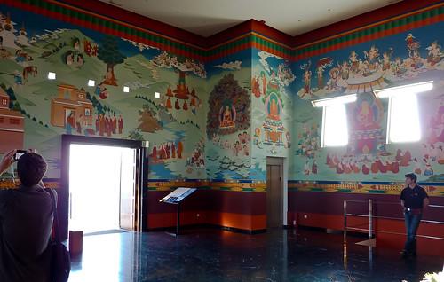 meditation hall of the stupa salle de m ditation du stup flickr. Black Bedroom Furniture Sets. Home Design Ideas
