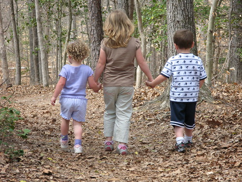 Children Walking on Trail | by vastateparksstaff