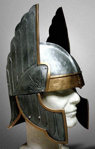 Gondor helm | Numenorean helmet of the 2nd Age; main body ...  Gondor helm | N...