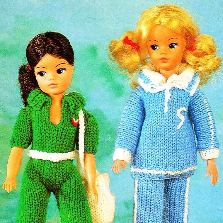 Sindy Doll Knits Sindy Knitting Pattern Great 1970s Leisu Flickr