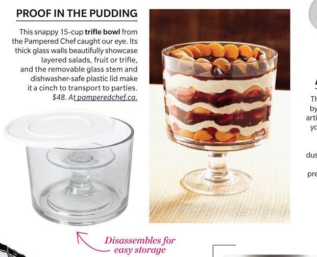 pampered chef trifle bowl | Mudrick | Flickr