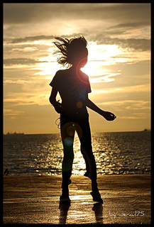 Sunset Dancer...No Kinect used. | by jeraul75