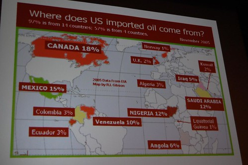 Where is U.S. crude oil produced?