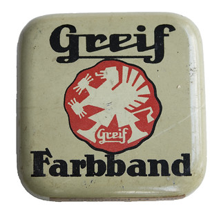 Farbbanddose GREIF | by shordzi