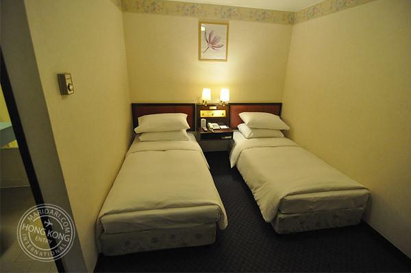 ... Evergreen Hotel Hong Kong   Twin Bedroom Without Windows | By Maridari