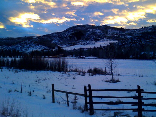 iPhone sunset in Colorado | by Jim Nix / Nomadic Pursuits