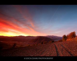 Road to sunrise | by Luca Cesari Photography