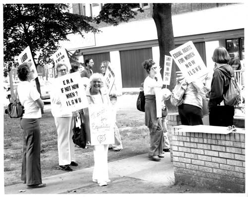 ILGWU Western PA District Council Equal Rights Amendment demonstration, 1978 | by Kheel Center, Cornell University Library