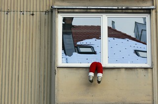 santa-stuck-on-rozmanova | by Bob Ramsak