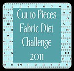 fabric diet challenge logo | by Cut To Pieces