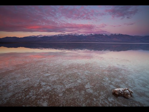 Lake Badwater - Badwater Salt Flats - Death Valley National Park - California | by D Breezy - davidthompsonphotography.com