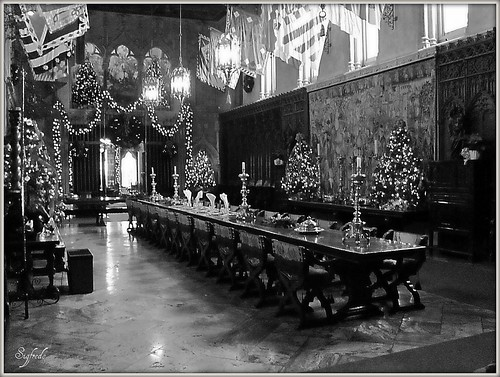 Hearst Castle, Dining Room | by Sigfredo (The universe is totally amazing)