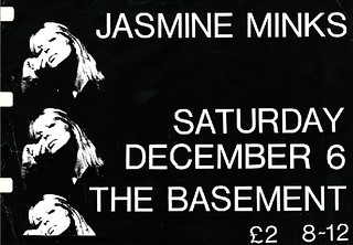 Jasmine Minks poster 1984 | by creationarchive