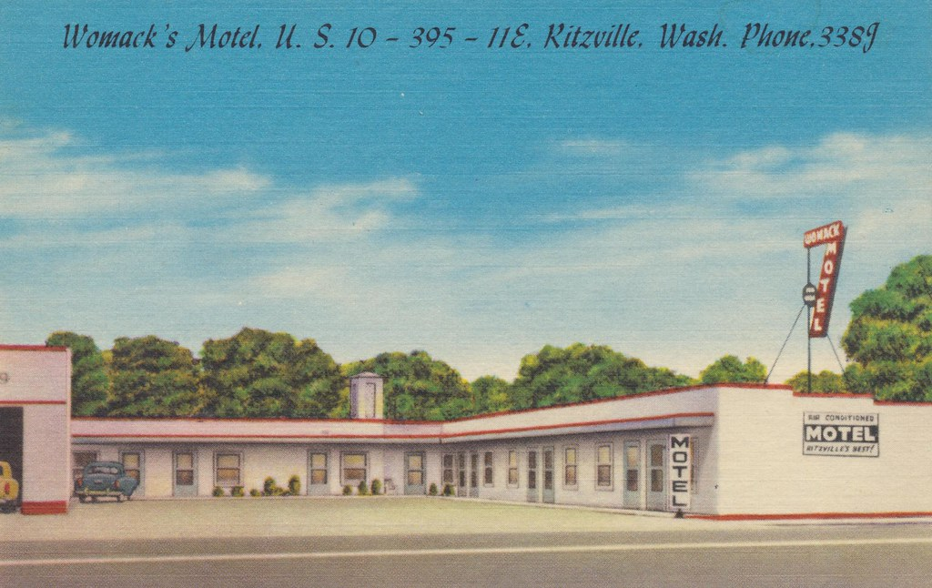 Womack's Motel - Ritzville, Washington